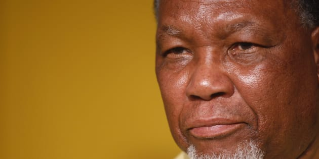 Former president Kgalema Motlanthe.