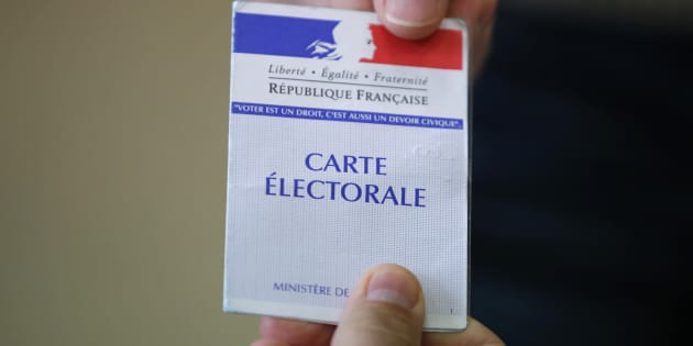 Carte d'électeur (Illustration)