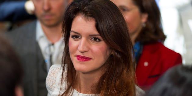 Marlène Schiappa, au Congrès LREM à Lyon au mois de novembre.