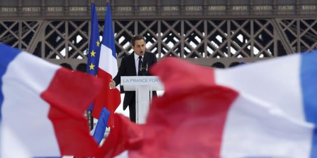 Nicolas Sarkozy avait organisé un grand rassemblement au Trocadéro le 1er mai 2012.