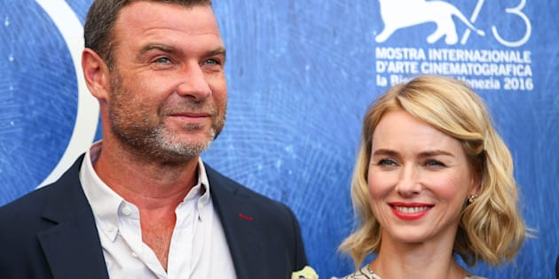 """Actors Liev Schreiber (L) and Naomi Watts attend the photocall for the movie """"The Bleeder"""" at the 73rd Venice Film Festival in Venice, Italy September 2, 2016. REUTERS/Alessandro Bianchi"""