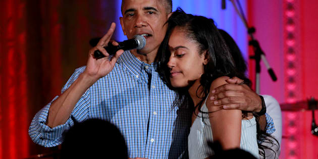 Malia Obama emménage sur le campus d'Harvard.