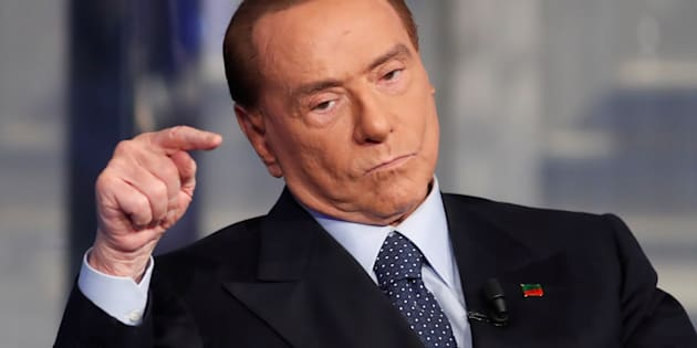 "Italy's former Prime Minister Silvio Berlusconi gestures during the taping of the television talk show ""Porta a Porta"" (Door to Door) in Rome, Italy January 11, 2018.  REUTERS/Remo Casilli"