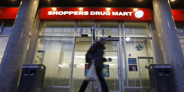A Shoppers Drug Mart store is pictured in downtown Ottawa Feb. 10, 2011.