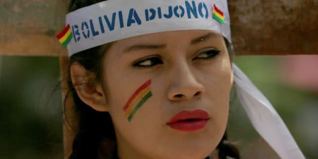 Las protestas contra la Evo Morales se hicieron ver por varias ciudades de Bolivia.