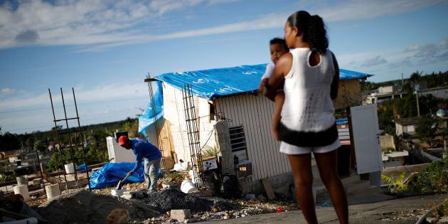 Los estragos de María aun se perciben en buena parte de la isla.