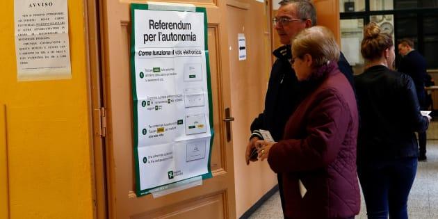 Il referendum del lombardo veneto e il voto dei produttori senza Renzi