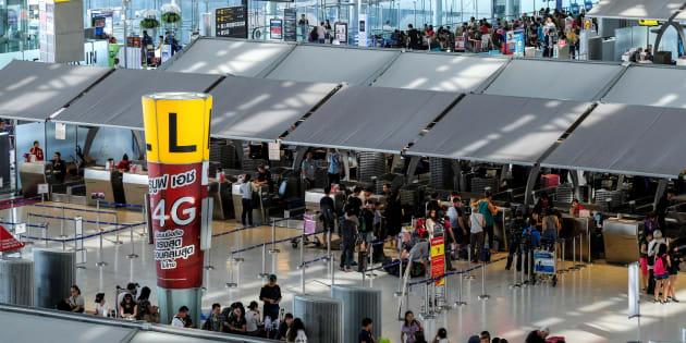 Une famille zimbabwéenne bloquée depuis deux mois à l'aéroport de Bangkok (photo d'illustration).