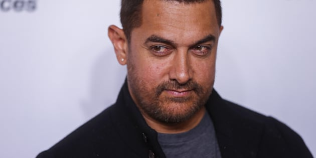 Indian actor Aamir Khan arrives for the opening night of the Women in the World summit in New York April 22, 2015. REUTERS/Lucas Jackson
