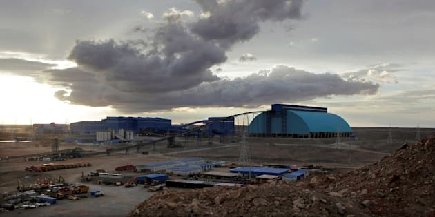 Rio Tinto's Oyu Tolgoi mine in Mongolia's South Gobi region, June 23, 2012. Rio Tinto and its Canadian subsidiary, Turquoise Hill Resources, have been accused of avoiding US$470 million in Canadian taxes relating to the Oyu Tolgoi mine's financing.