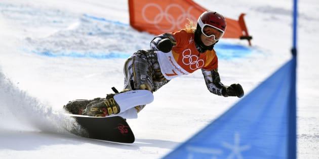 Ester Ledecká a remporté une deuxième médaille d'or — JO de Pyeongchang