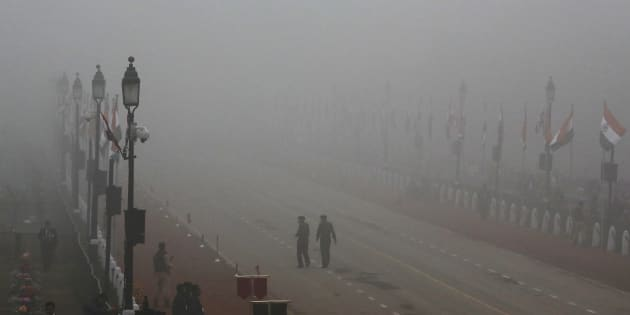 A file photo of Delhi fog.