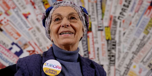 Italy's Emma Bonino, leader of the More Europe party, speaks during a news conference at the Foreign Press Association in Rome, Italy 16 February, 2018. REUTERS/Max Rossi