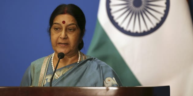 File photo of Indian Foreign Minister Sushma Swaraj.
