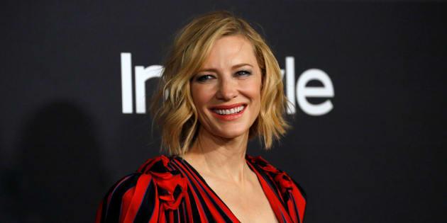 La actriz Cate Blanchett, en una imagen tomada en un evento en Los Angeles el 23 de octubre de 2017.