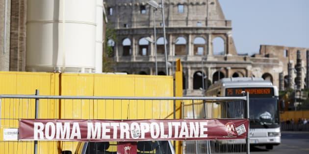 Per i lavori della metro C di Roma 25 a rischio processo, c