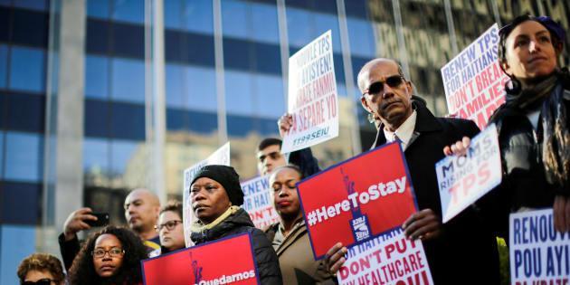 Une manifestation contre la déportation avait eu lieu à Manhattan le 27 novembre dernier.