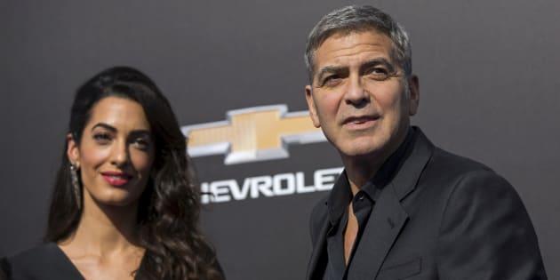 Le couple Clooney fait un gros don pour lutter contre la haine raciale