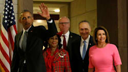 Obama Urges Democrats To Stand Tall Against Assault On