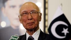 Pakistan's Sartaj Aziz Plans To Visit India In December, Hints At