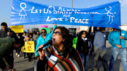 PHOTOS: Hundreds March In Kansas After Indian Engineer's Senseless
