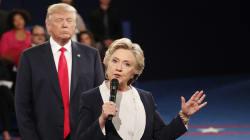 Dans son livre, Hillary Clinton traite Donald Trump de