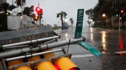 L'uragano Harvey flagella il Texas, blackout e