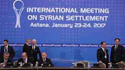 Syria's Peace Talks Shaky As Warring Sides Meet In