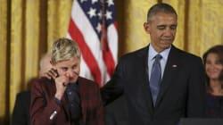 El discurso que hizo llorar a Ellen