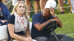 Vi la foto de Tiger Woods, pero no la de Lindsey