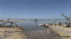 Nadar en Gaza: peligroso y