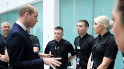 Prince William Pays Tribute To Manchester First Responders And