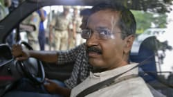 Shoe Thrown At Delhi CM Arvind Kejriwal At A Rally In Haryana's