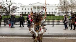Las mejores fotos de la protesta de los nativos americanos a la Casa