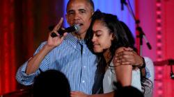 Malia Obama emménage sur le campus d'Harvard accompagnée de ses