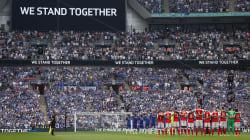 Minute de silence émouvante à Wembley avant la finale de la