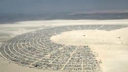 Voyez les incroyables photos du festival Burning Man dans le désert du