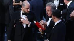 La boulette ultime: erreur d'enveloppe pour l'Oscar du