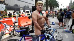 FOTOS: Ciclistas desnudos... arropados por las calles del