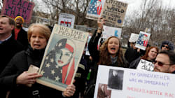 Protests Against Trump's Executive Order Don't Let
