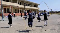 Tras tres años de dominio del ISIS, las niñas vuelven a clase en Mosul