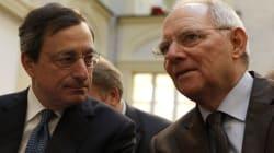 Schaeuble difende Draghi dai giudici costituzionali tedeschi: