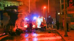 Reportan explosión en estadio de