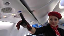 Pasajera brasileña de Air France que iba a Copenhagen aterrizó en