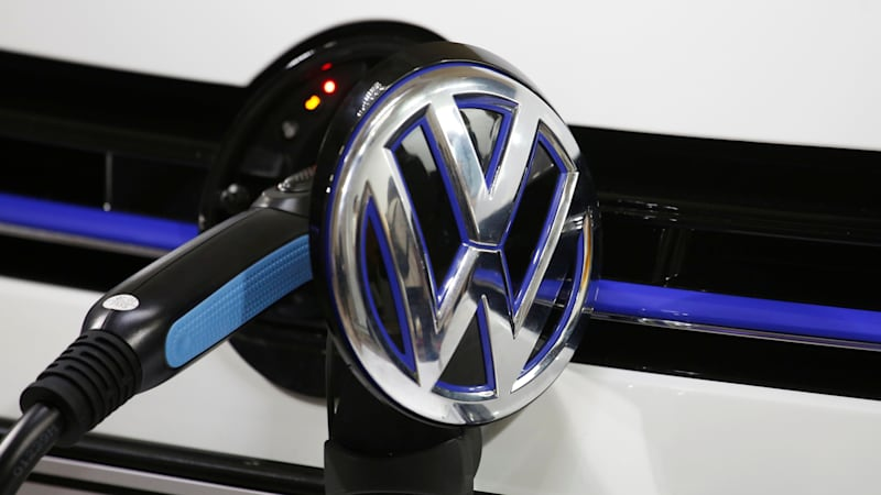 VW to spend over $40bn on electric and self-driving cars