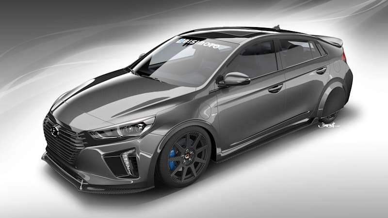 Bisimoto tunes Hyundai Ioniq SEMA show car for efficiency, not power
