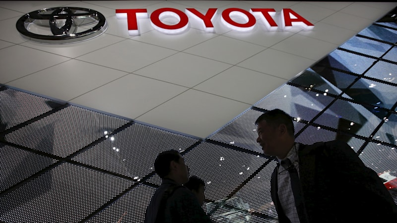Toyota profit surges, may be headed for a record year