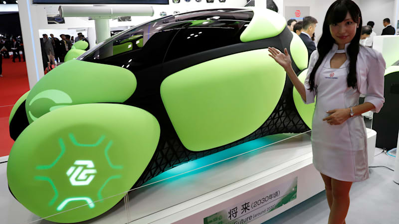 A Concept Car Equipped With External Airbags To Protect Against Fender Benders Is Raising Eyebrows At The Tokyo Motor Show