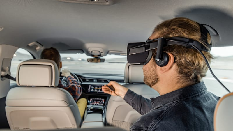 We join Audi live on Engadget s stage to talk the future of in-car entertainment