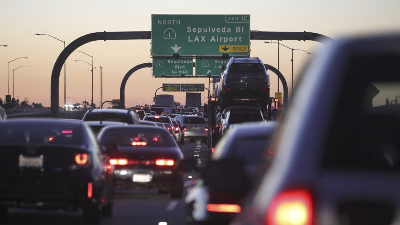 photo image D.C. area home of worst spot for traffic, but L.A. has overall worst congestion